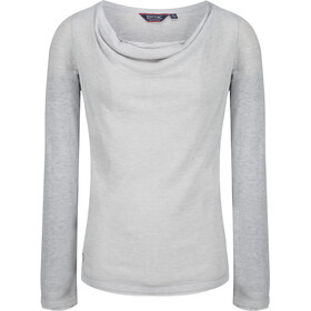 Regatta Frayda Jersey manga larga Mujer, light steel